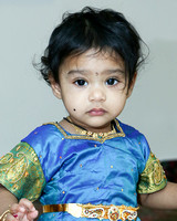 Jyothisiavasavi's 1st Birthday Party